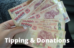 Tipping & Donations
